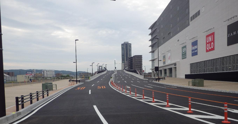 土木施工実績(東静岡南北幹線道路築造)