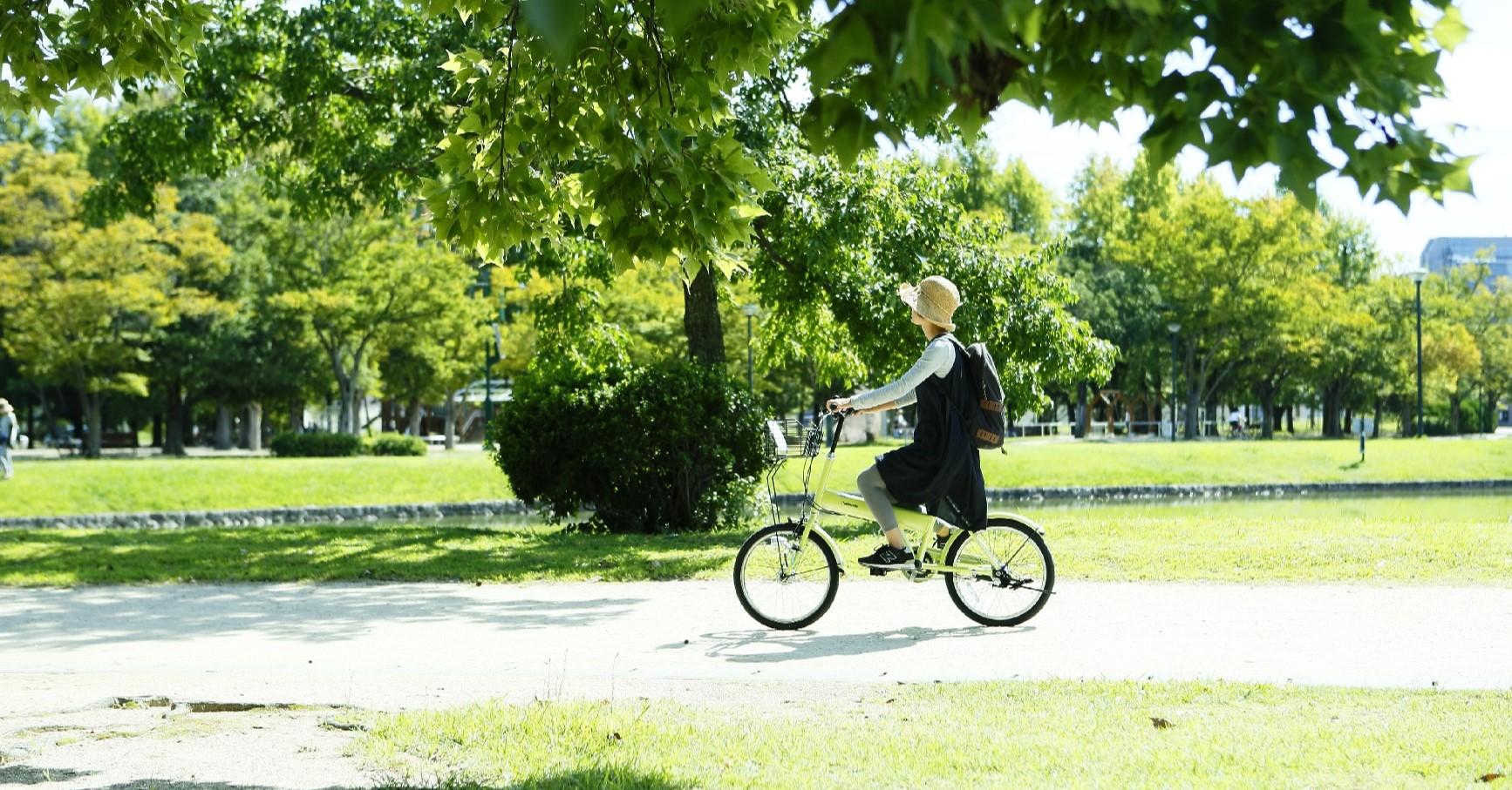 自転車先進都市として、コミュニティサイクルを実施