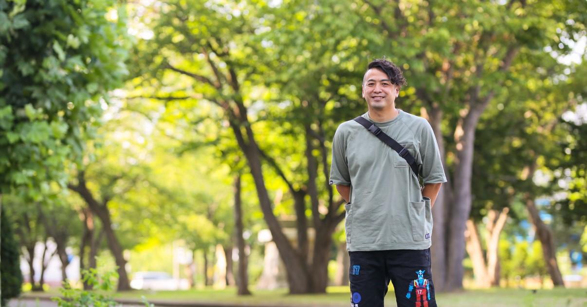 恵庭市は遊ぶところも多いし自然もたくさんあります。