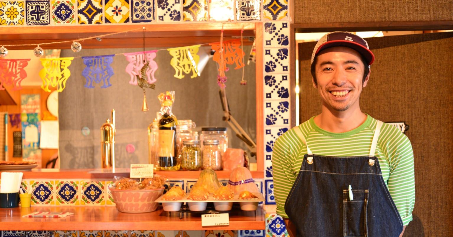 竹内 悠太さん(洋食と喫茶 COSTA 経営)<br>島原市出身、30 代<br>