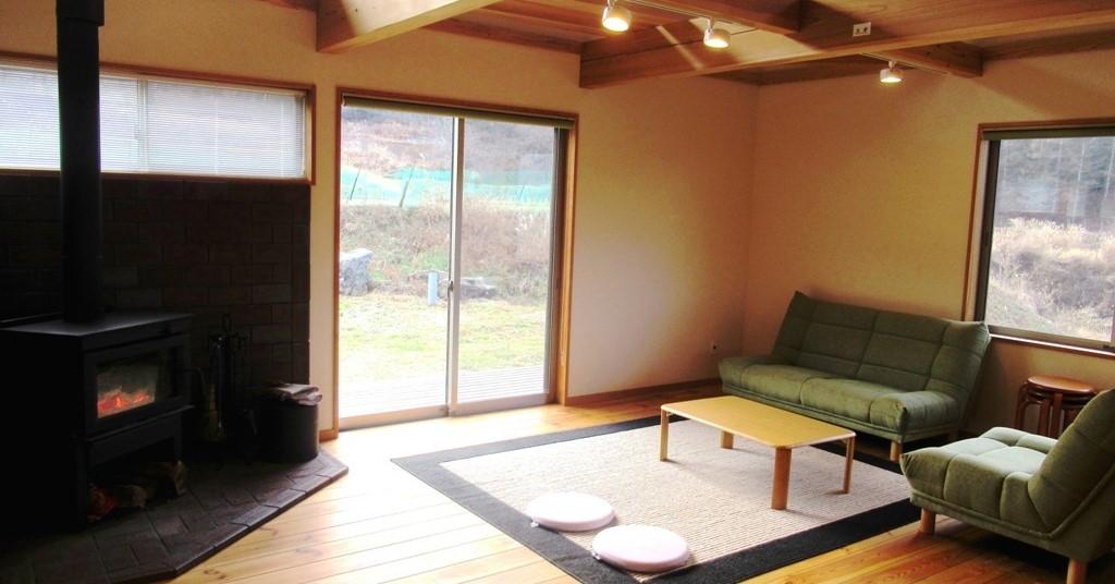 長野県伊那市で薪ストーブのある暮らし体験しませんか?
