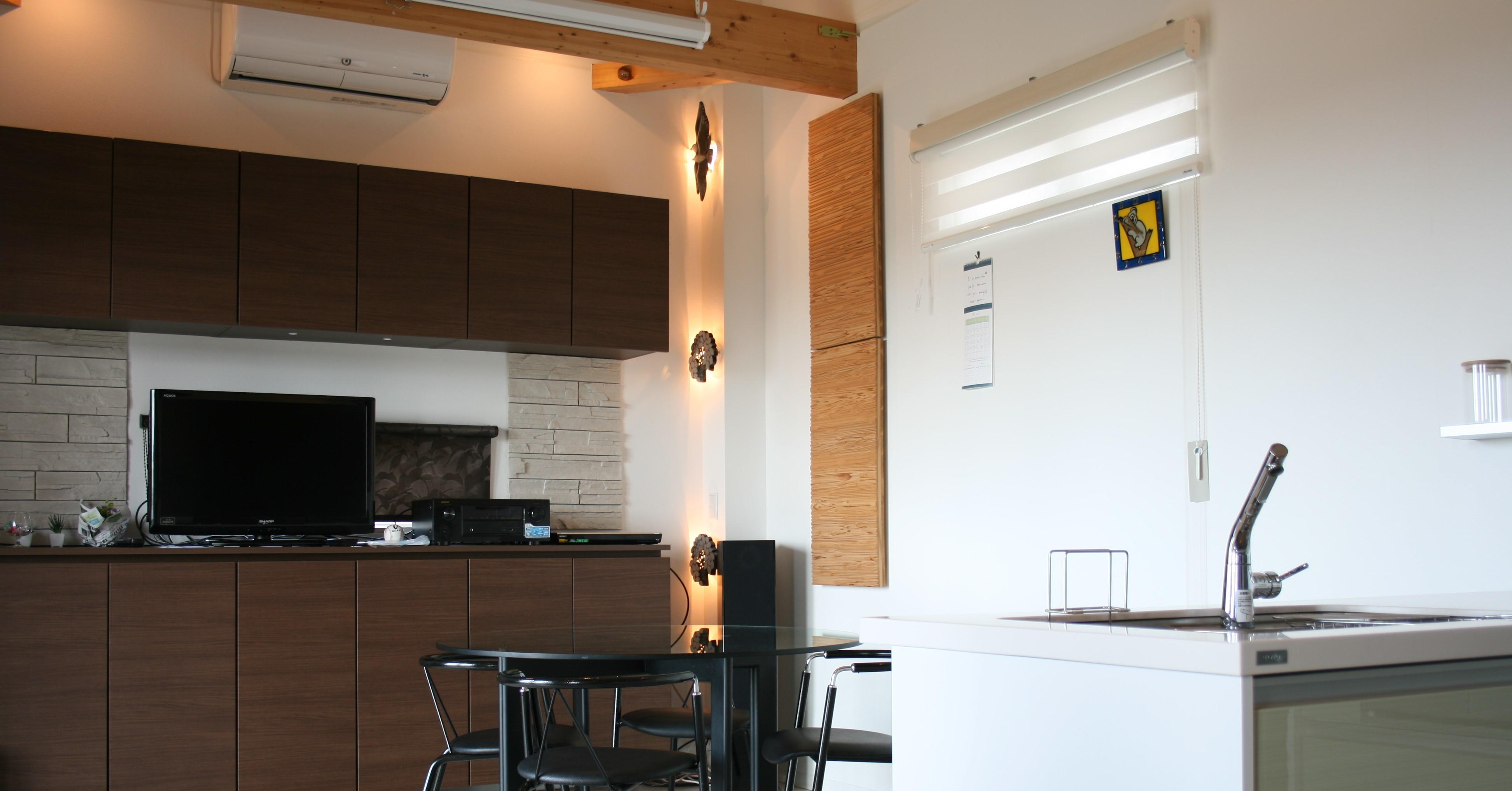 気密性が高く冬でも暖かい住宅です。