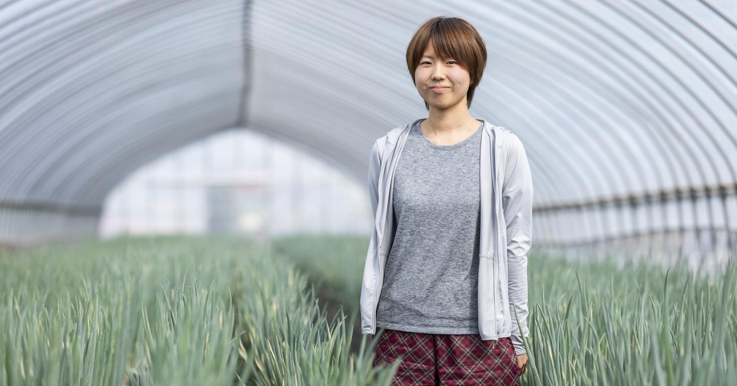 愛媛県出身の尾上さん。(2018年10月取材)