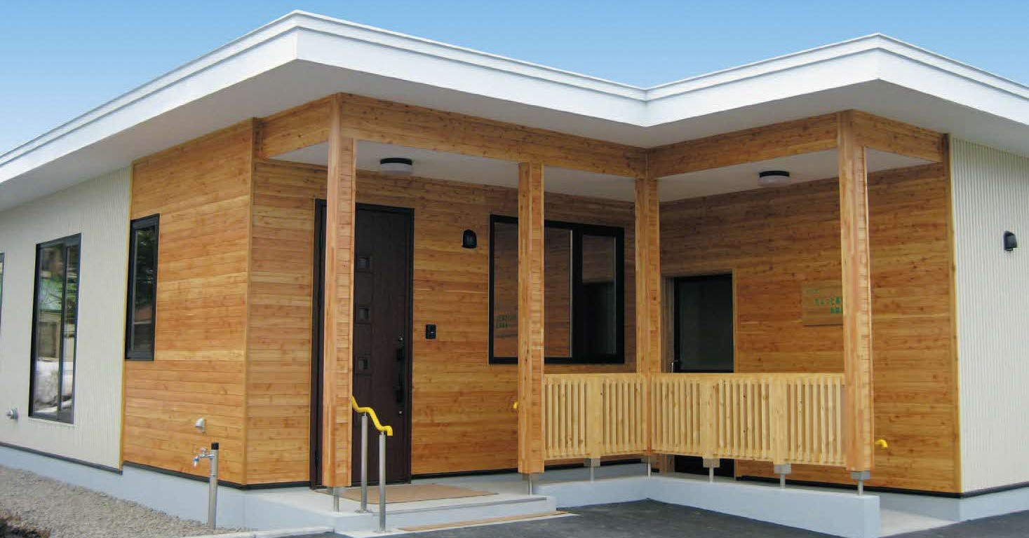 移住体験モデル住宅外観