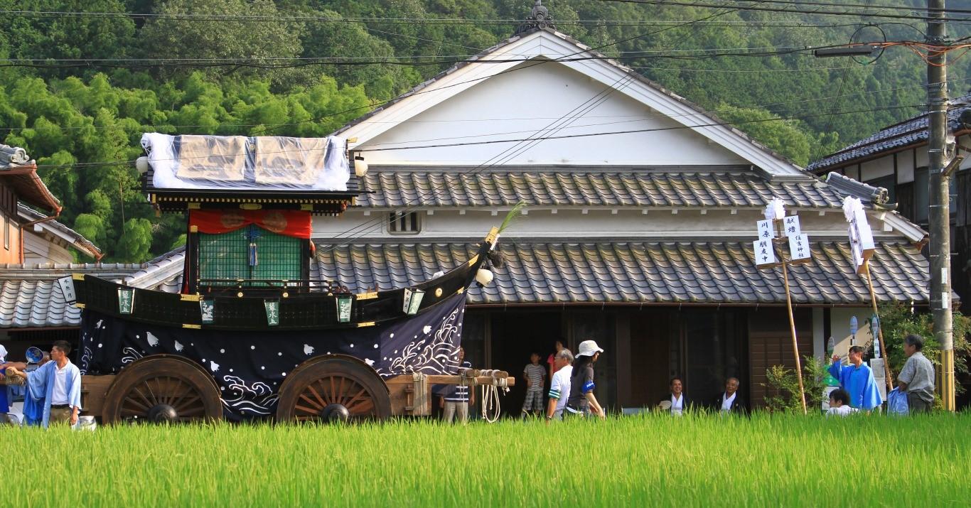 丹波篠山は京阪神に近いながら古いまちなみと伝統文化が残る農村