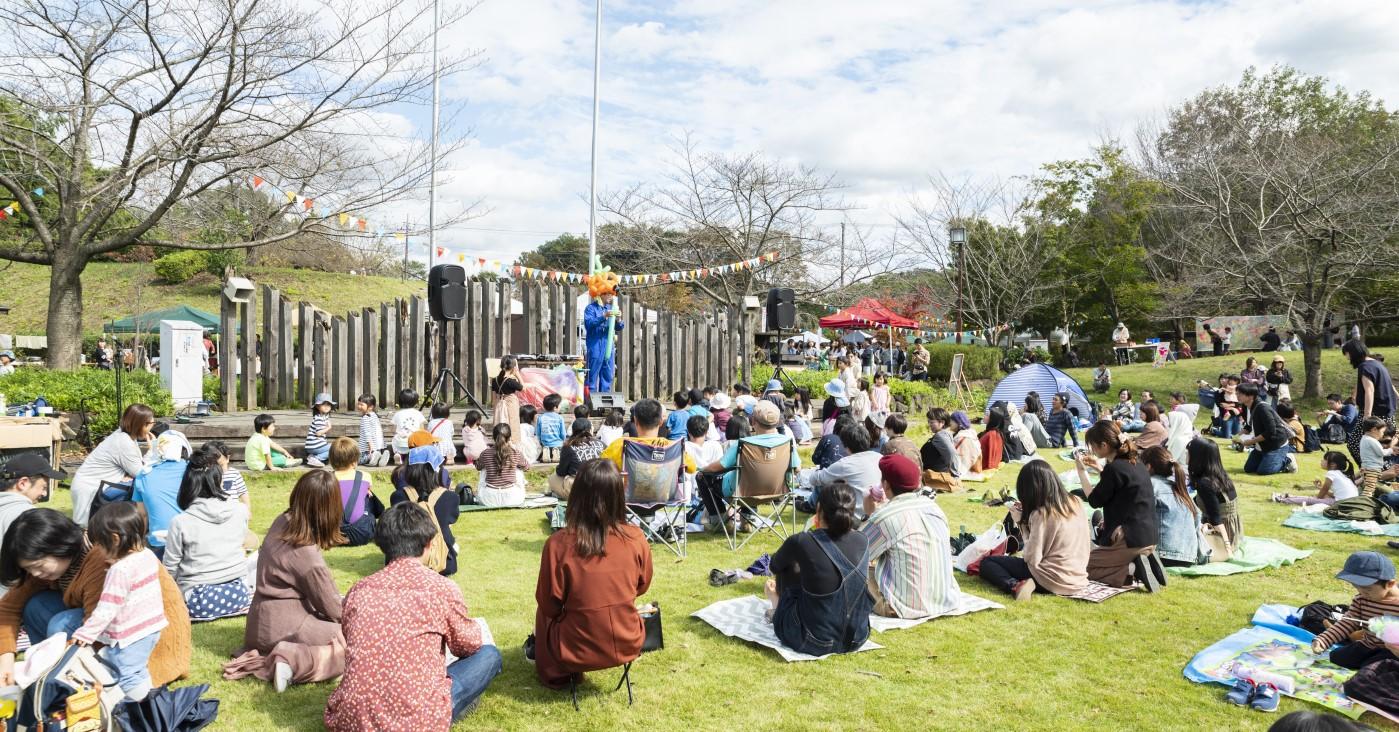 収穫祭での音楽イベント