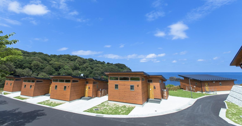 能登半島最先端で目の前に海が広がる多拠点居住施設を体験