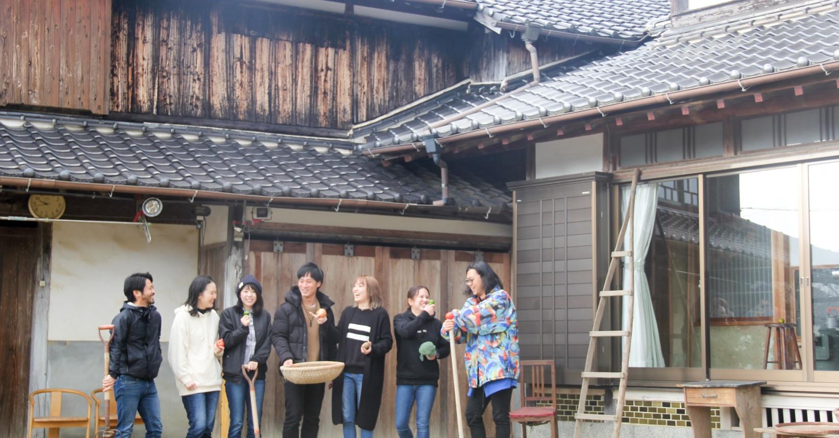 佐賀県唐津市の暮らしを体験できるシェアハウス根の家ROOTHAUS