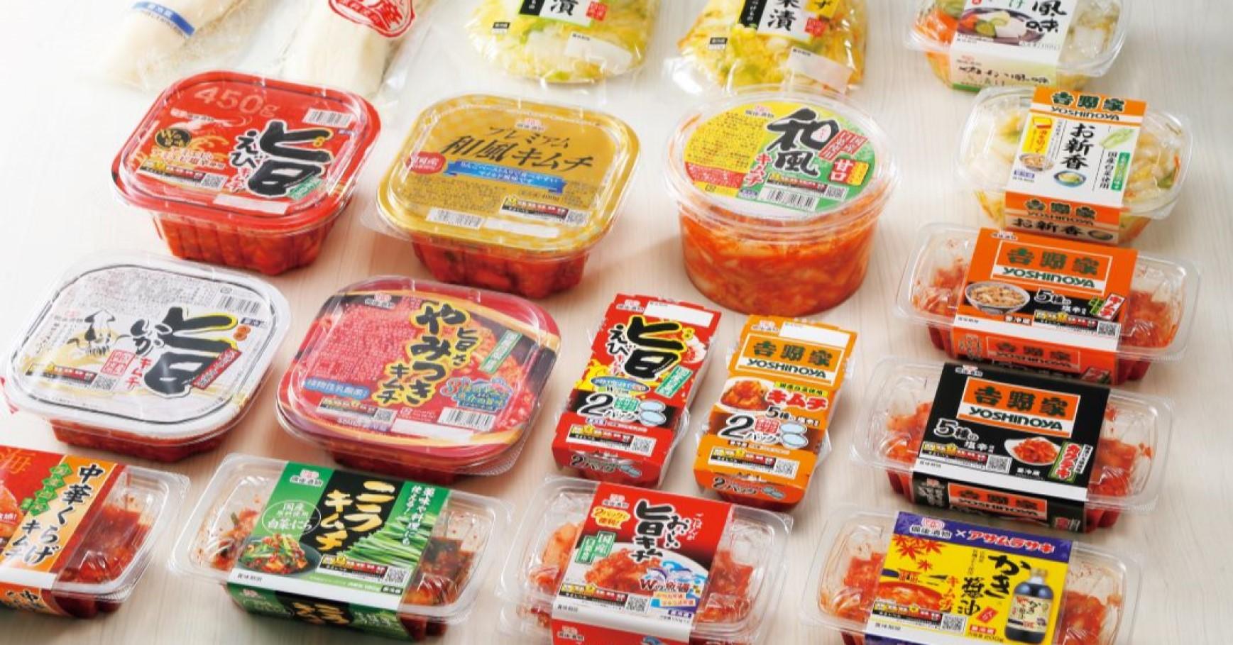 キムチやお漬物の商品開発(創業74年の老舗お漬物メーカー)
