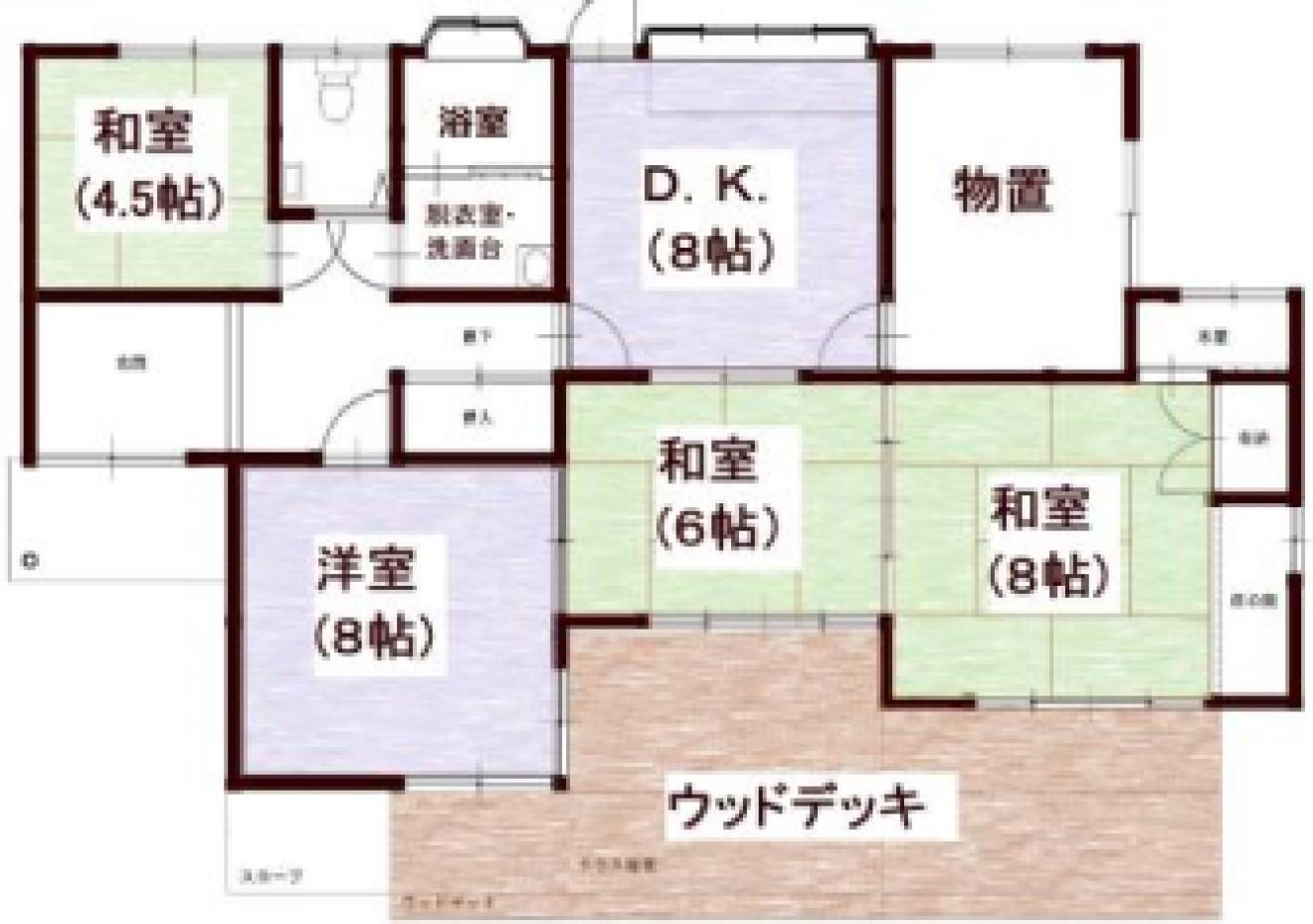 昔ながらの落ち着く日本家屋