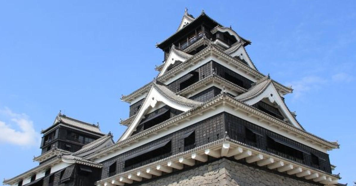 熊本地震から約5年、復興のシンボルとなっている熊本城です。