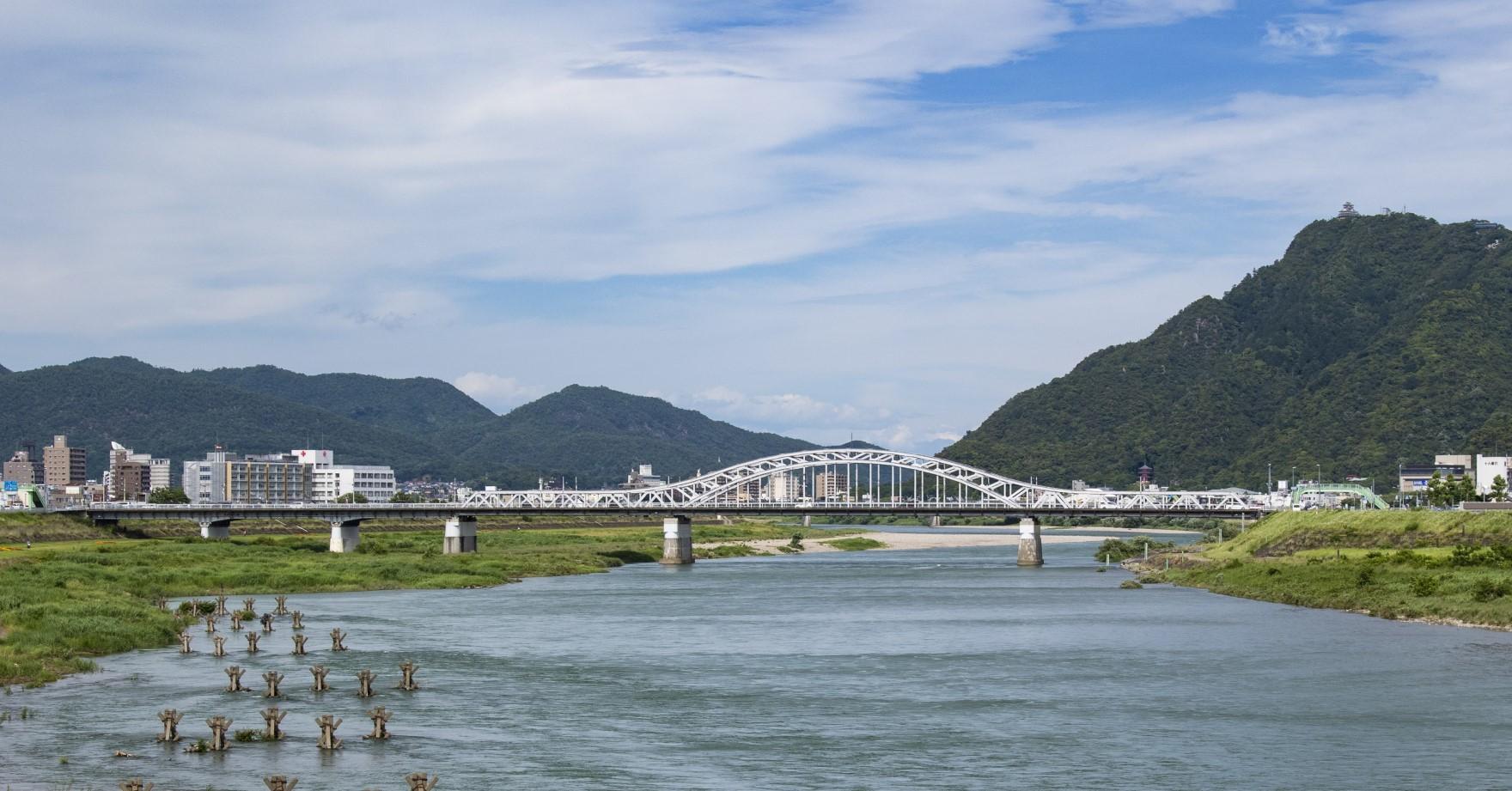 長良川からの眺め